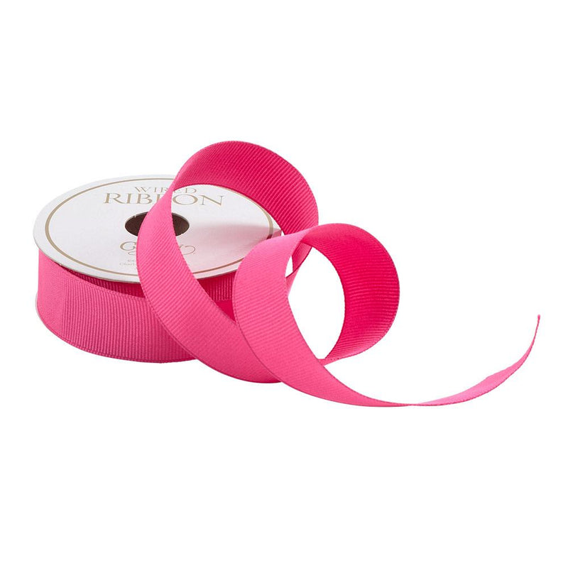 Fuchsia Grosgrain Ribbon - All She Wrote