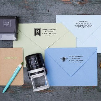 Personalized Stamp - Rectangle