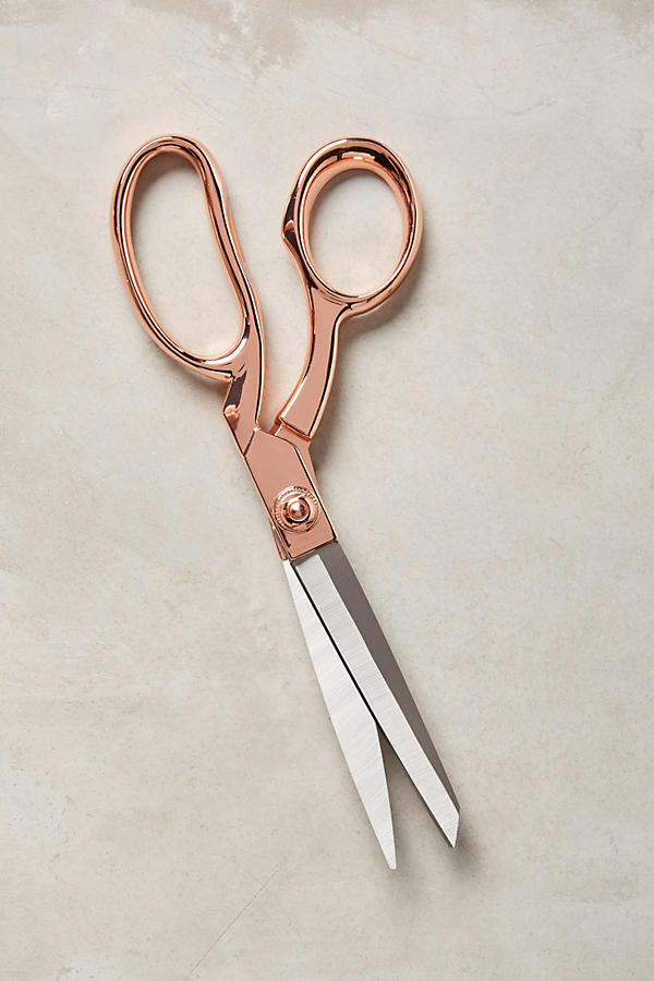 Rose Gold Scissors - All She Wrote