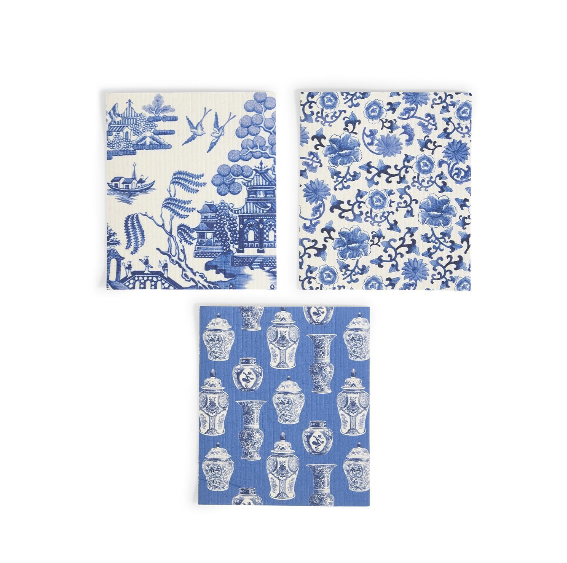 Blue Willow Kitchen Cloth
