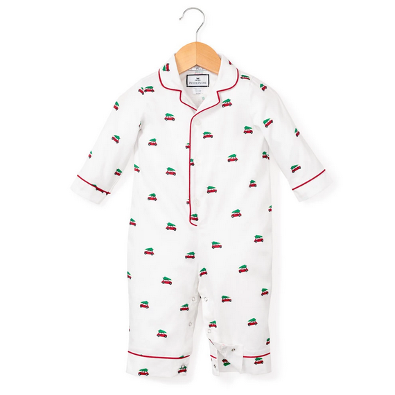 Holiday Journey Romper - All She Wrote