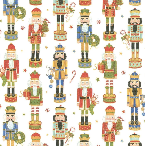 Nutcracker Parade Gift Wrap - All She Wrote