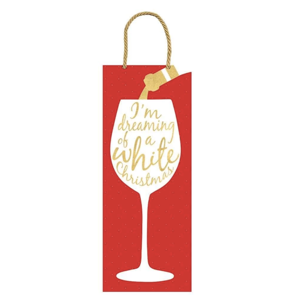 Wine Christmas Bottle Bag - All She Wrote