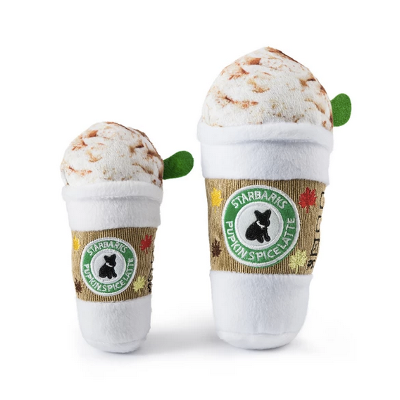 Starbarks Pupkin Spice Latte Dog Toy - All She Wrote