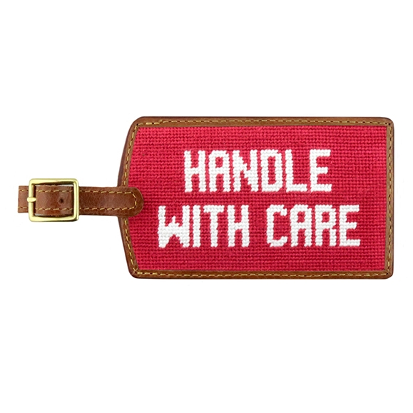 Handle With Care Luggage Tag - All She Wrote