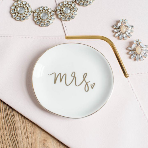 Mrs. Jewelry Dish - All She Wrote