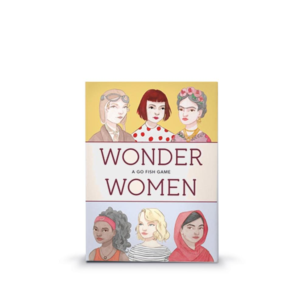 Wonder Women: A Go Fish Game - All She Wrote