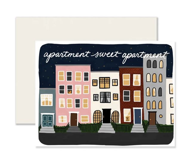 Sweet Apartment Card