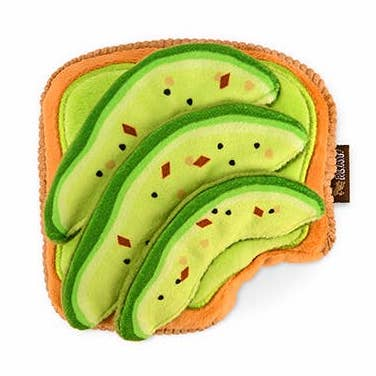 Avocado Toast Dog Toy - All She Wrote