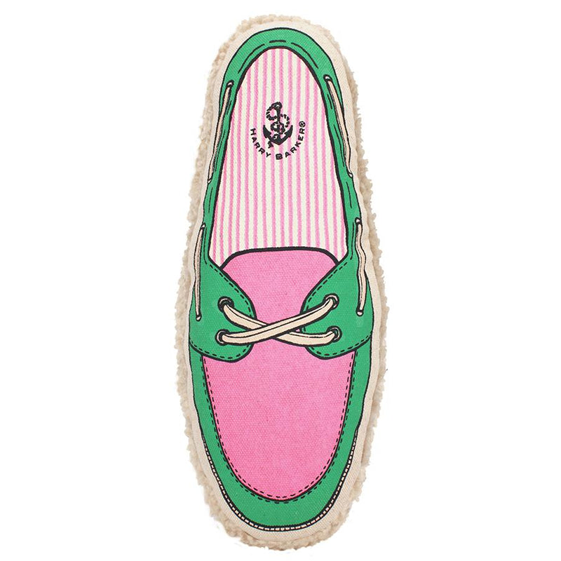 Pink Boat Shoe Dog Toy - All She Wrote