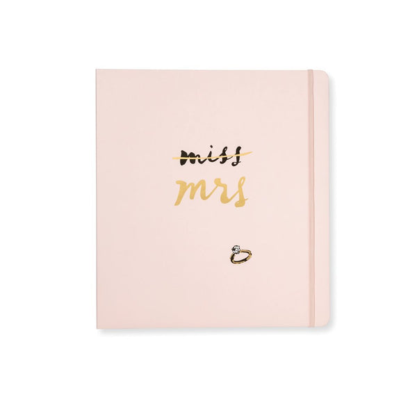 Kate Spade Miss to Mrs Bridal Planner - All She Wrote