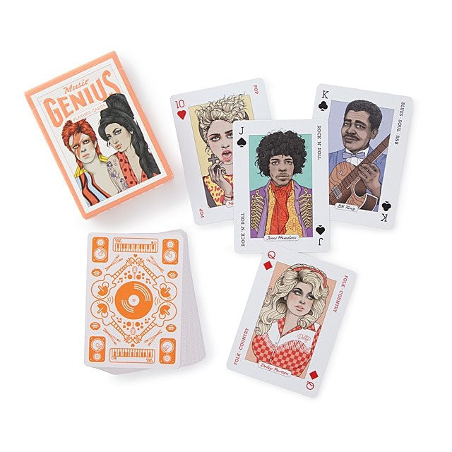 Music Genuis Playing Cards