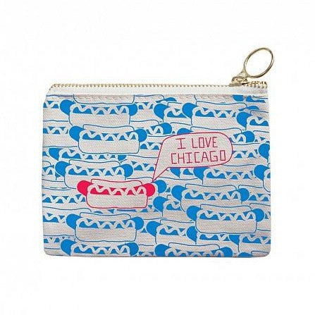 Chicago Coin Purse - All She Wrote