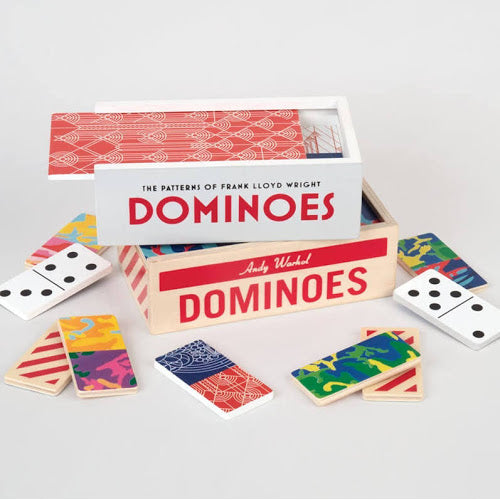 Frank Lloyd Wright Dominoes