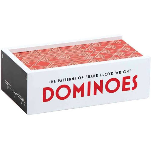 Frank Lloyd Wright Dominoes - All She Wrote