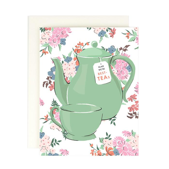 Best-Teas Card - All She Wrote