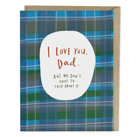 I Love You Dad Card - All She Wrote