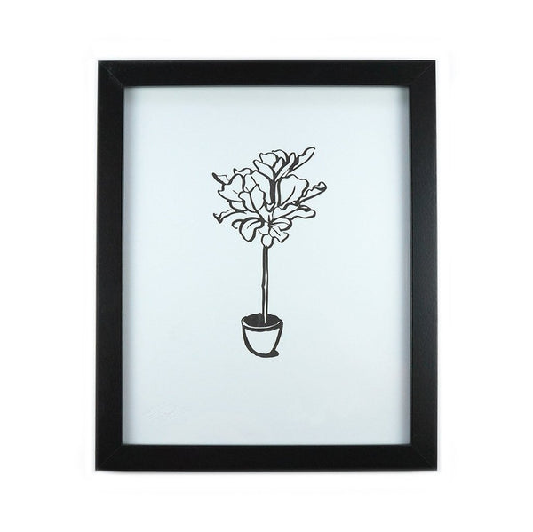 Fiddle Leaf Art Print