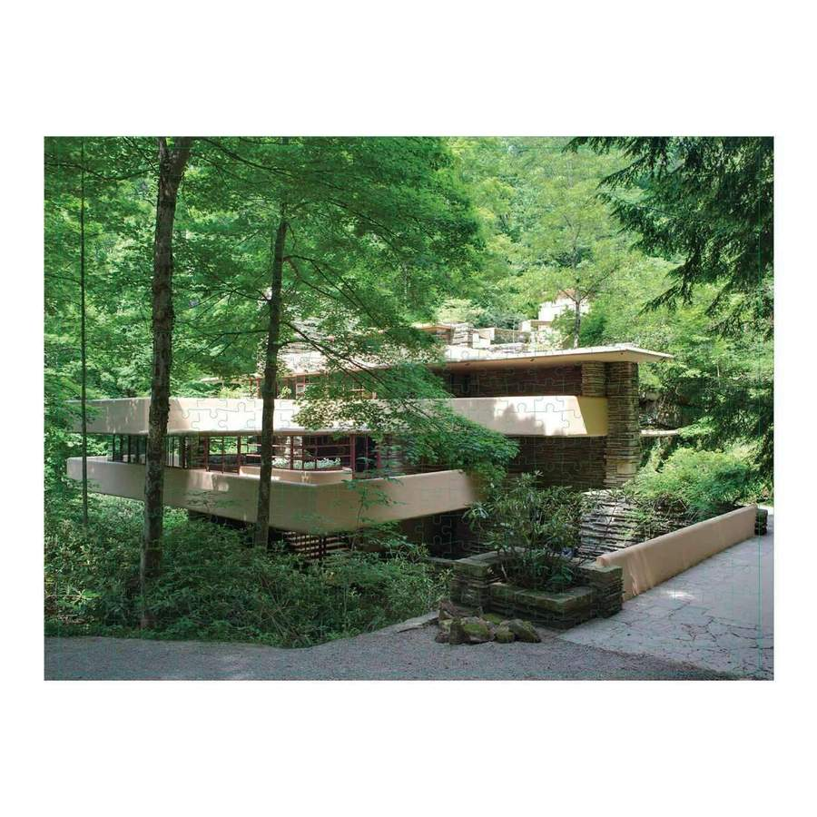 Fallingwater Puzzle - All She Wrote