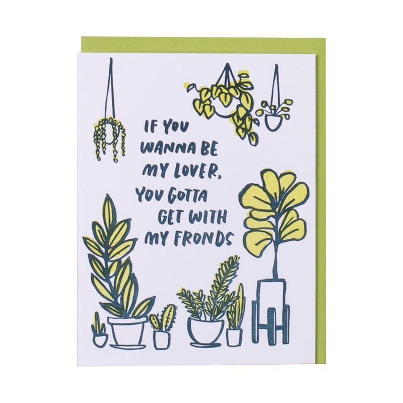 Frondship Card - All She Wrote