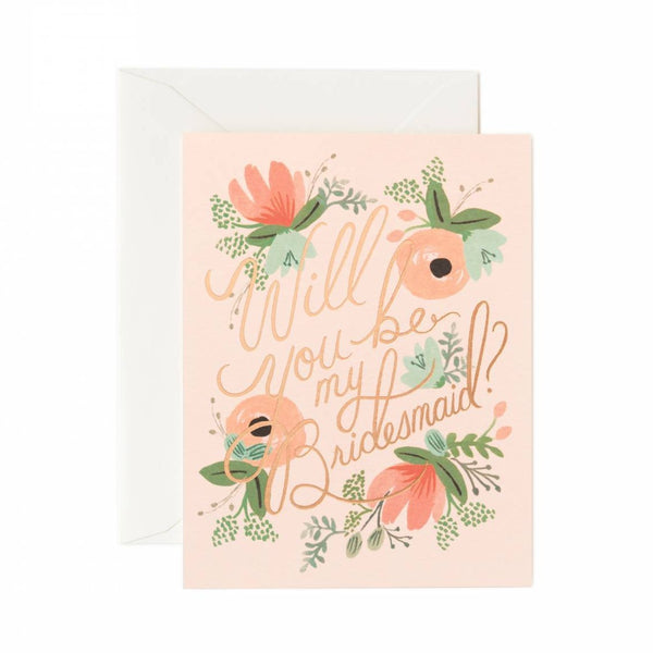 Rifle Paper Co. Blushing Bridesmaid Boxed Stationery - All She Wrote