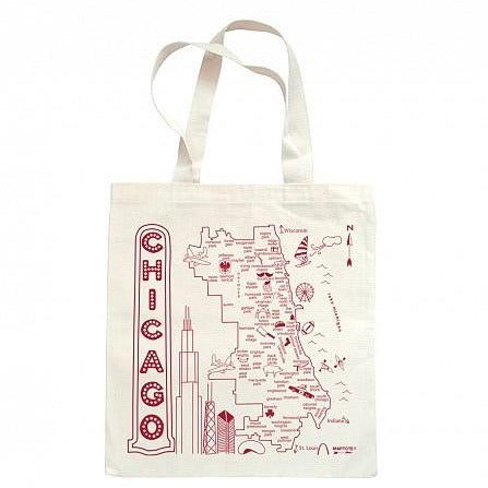 Chicago Grocery Tote - All She Wrote