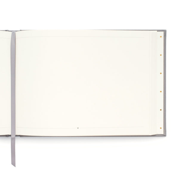 Sugar Paper Grey Guest Book