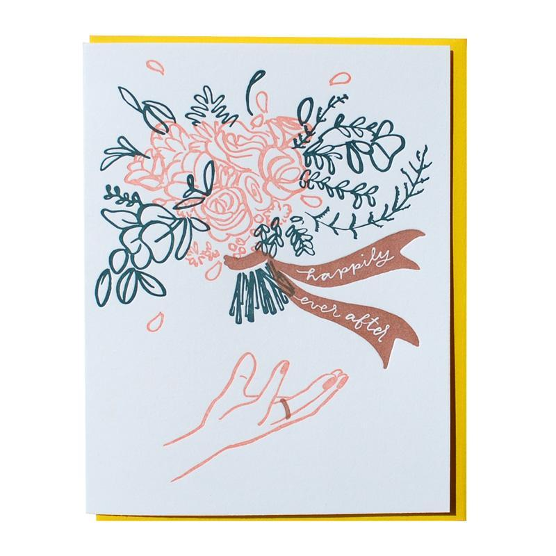 Happily Ever After Card - All She Wrote
