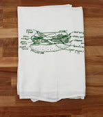 Chicago Hot Dog Tea Towel - All She Wrote