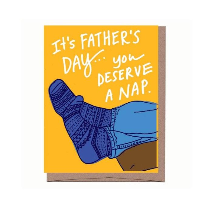 Father's Day Nap Card - All She Wrote