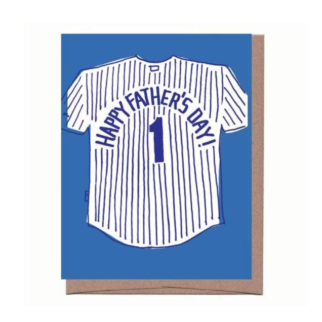 Dad Jersey Card - All She Wrote
