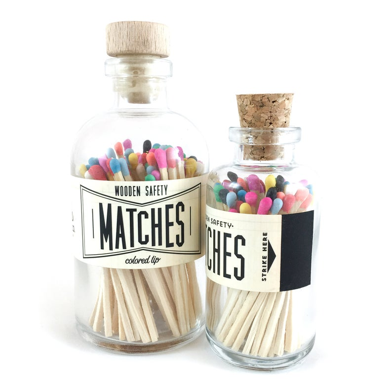 Variety Vintage Apothecary Matches - All She Wrote