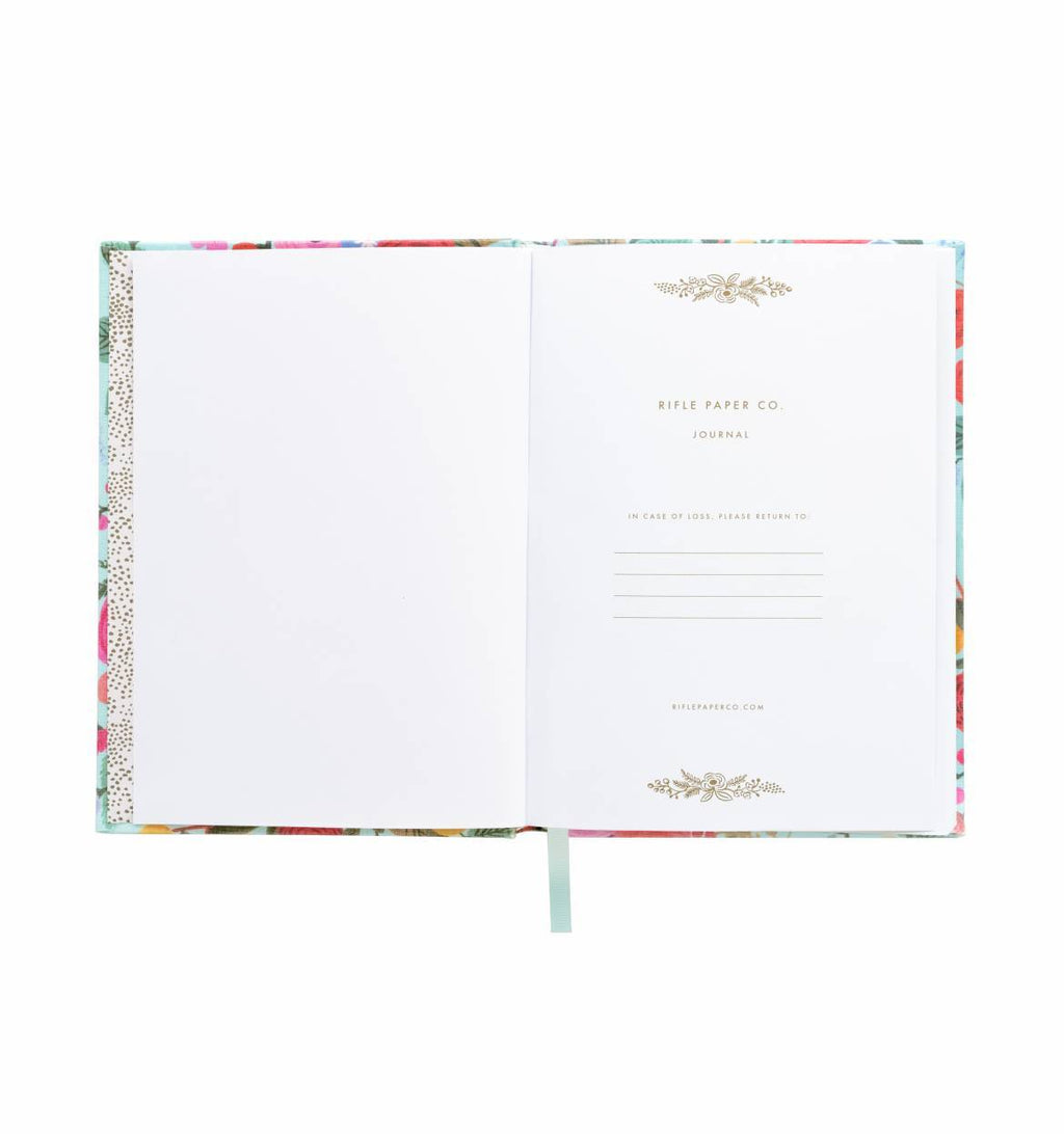 Garden Party Fabric Journal - All She Wrote