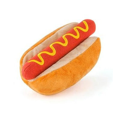 Hot Dog Dog Toy - All She Wrote