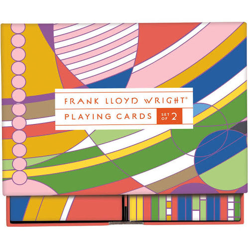 Frank Lloyd Wright Playing Cards - All She Wrote