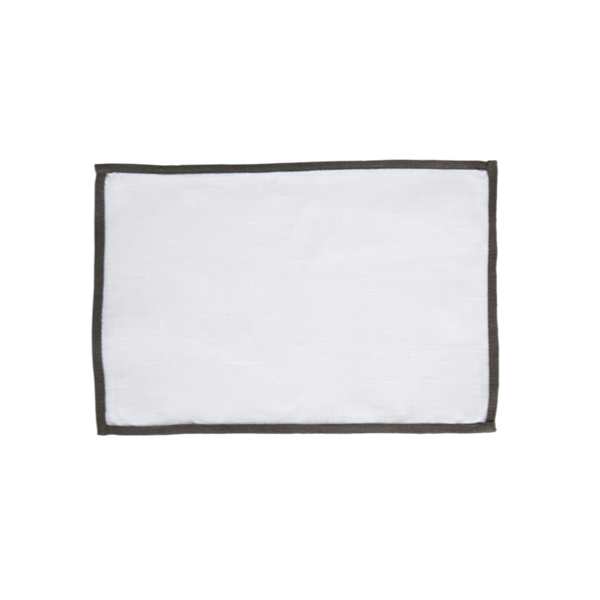 Color Edge Rectangle Placemat - All She Wrote