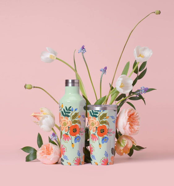 Rifle Paper Co. x Corkcicle Lively Floral Canteen