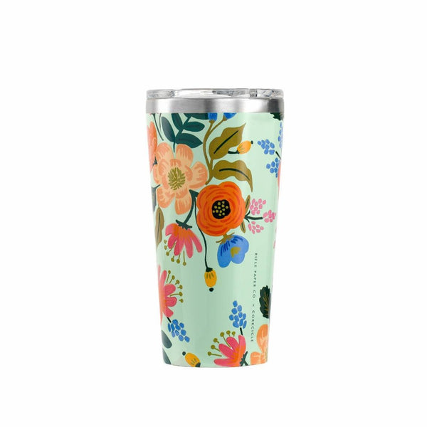 Rifle Paper Co. x Corkcicle Lively Floral Tumbler - All She Wrote
