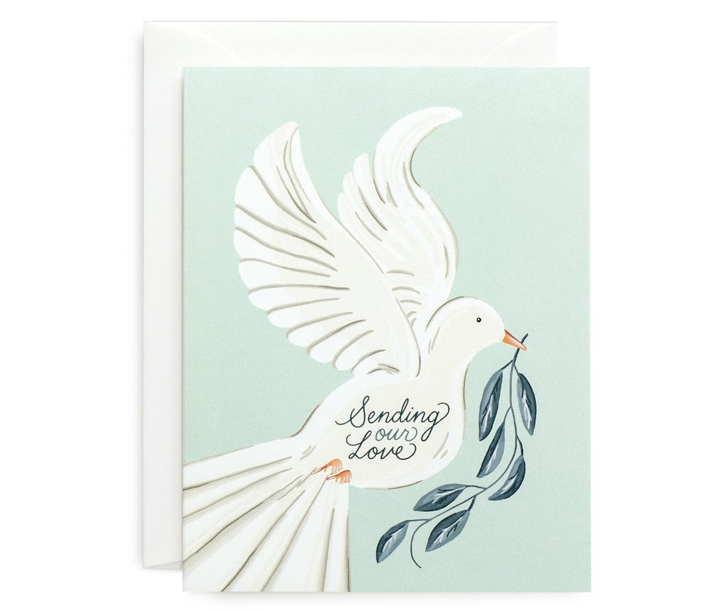 Sending Love Card - All She Wrote