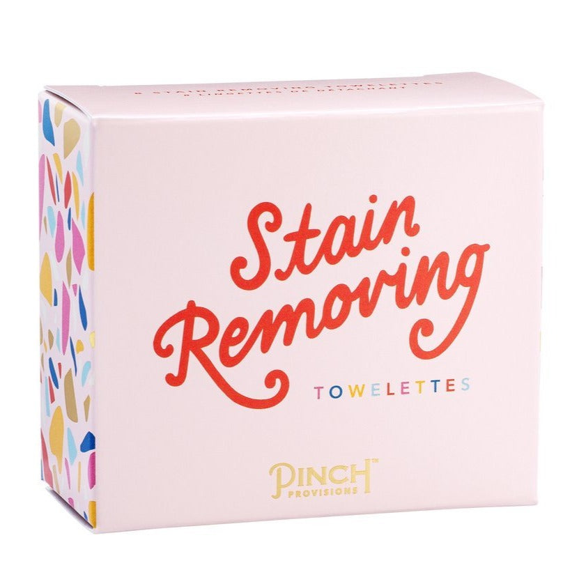 Stain Remover Towelettes - All She Wrote