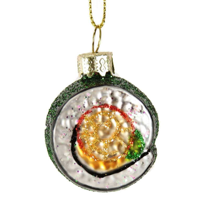 Maki Sushi Ornament - All She Wrote