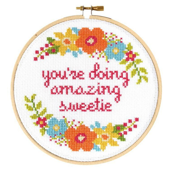 Sweetie Cross Stitch Kit - All She Wrote
