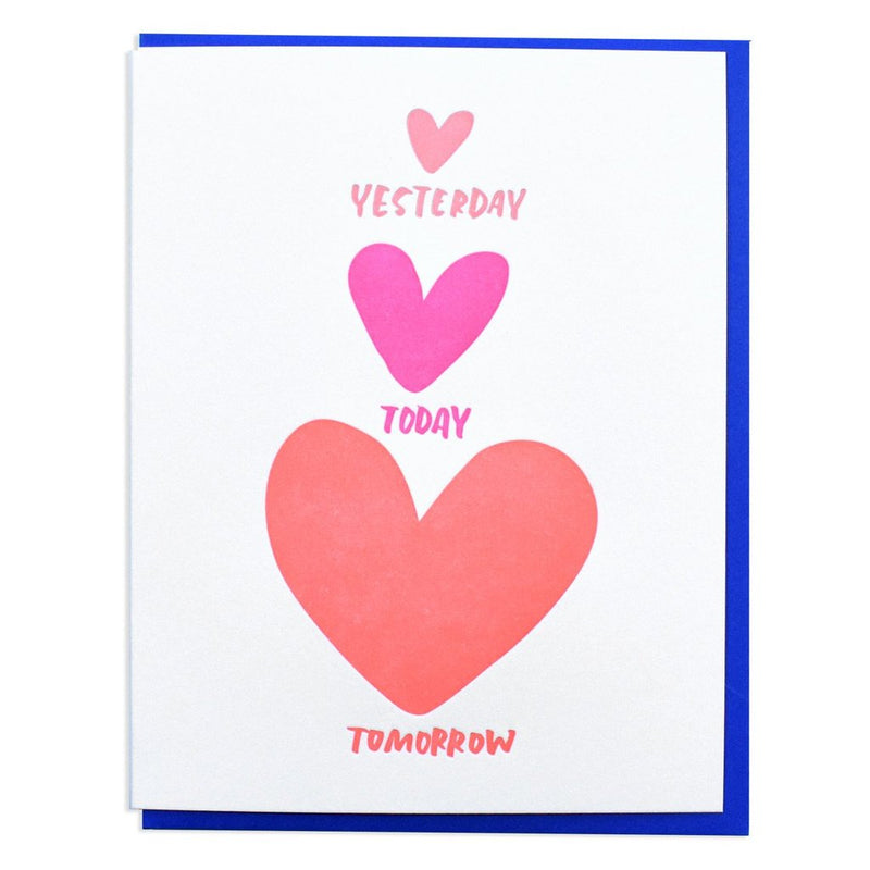 Yesterday, Today, Tomorrow Card - All She Wrote