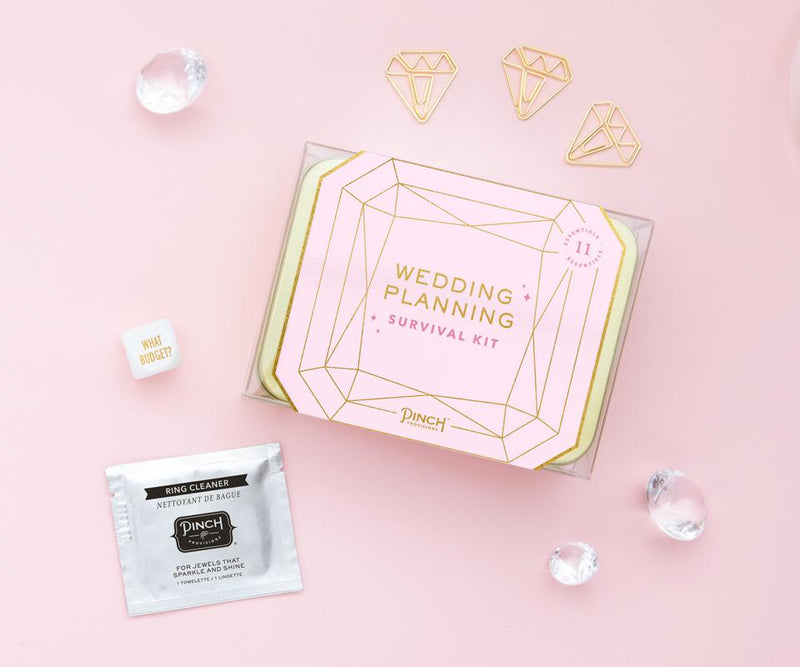 Wedding Planning Survival Kit - All She Wrote