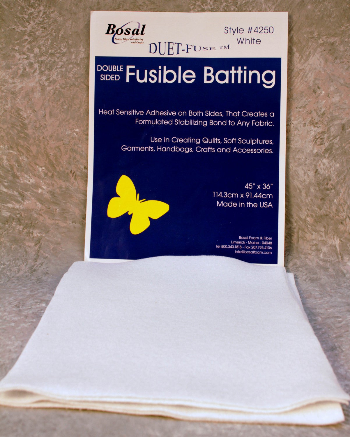 Duet-Fuse Double Sided Fusible Batting