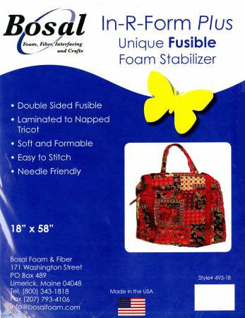 In-R-Form Plus Double Sided Fusible Foam Stabilizer