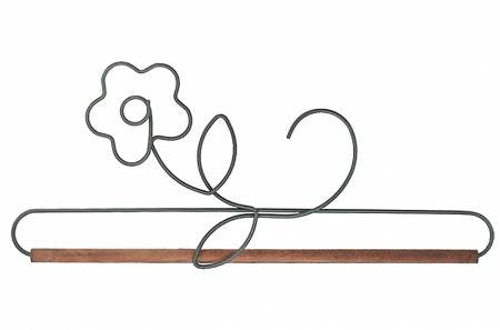 "Banner Hanger, 12"" Pansy with Dowel"