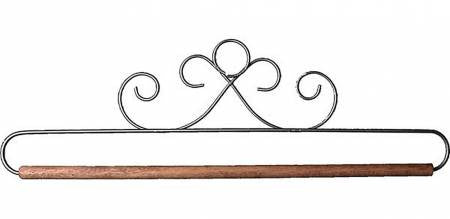 "Banner Hanger, 12"" French Curls with Dowel"
