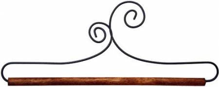 "Banner Hanger, 6"" Double Scroll with Dowel"