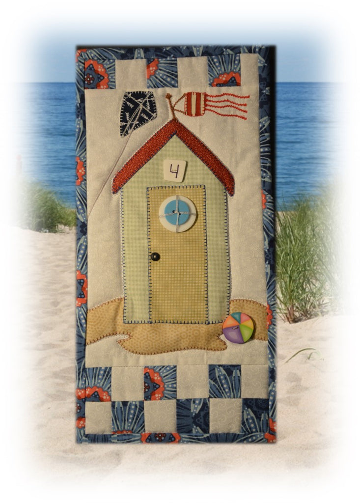 Mini Banners Beach Hut Kit Stina S Quilt And Sewing
